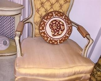 Vintage French Arm Chair