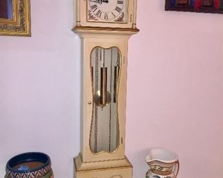 Grandfather Vintage Working Clock