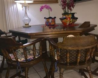 Custom Poker Table & Chairs