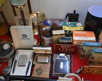 LIGHTERS, AMMO, TINS