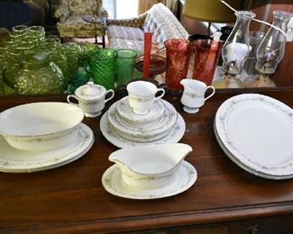 SANGO CHINA SET-SERVICE FOR 12
