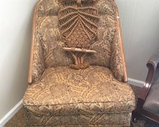 CHAIR, MACRAME OWL