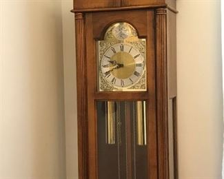 Howard Miller grandfather clock.