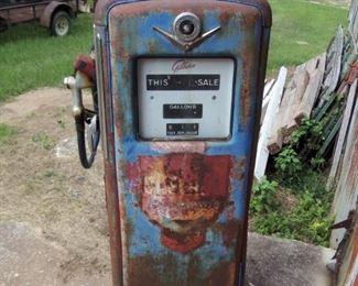 VINTAGE GILBARCO GAS PUMP