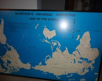CORRECTIVE MAP OF THE WORLD