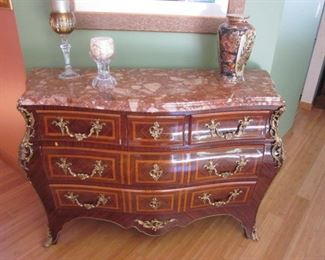 Stunning Bombay Chest Marble Top