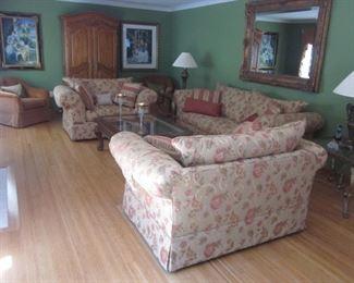 Macy's Living Room Suite