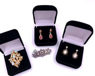 Gold, silver and gemstone jewelry