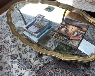 Baker Brass coffee table