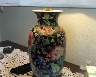 Chinese ginger jar lamp
