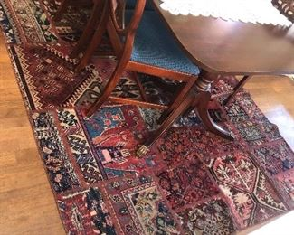 Patchwork Persian rug