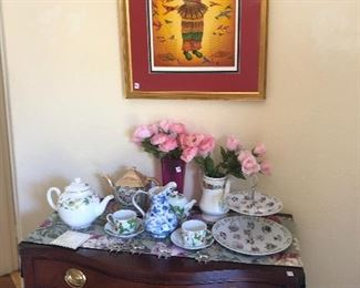 Dresser - and tea sets!