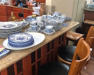 Blue Danube China, stools