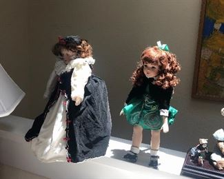 Irish dance doll, Queen Elizabeth doll