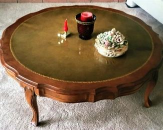 mid-century coffee table (2 matching end tables)