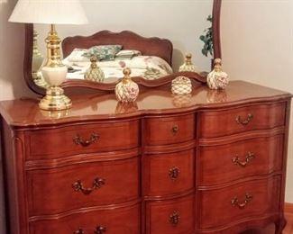 mid-century Huntley bedroom set