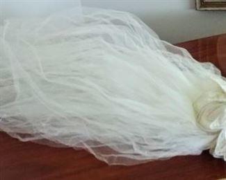 beautiful vintage veil