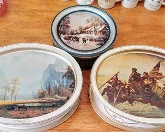 Currier & Ives tins