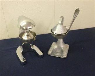 Two Vintage Juicers