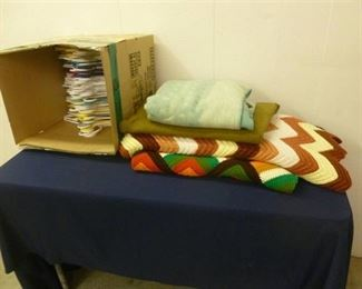 Vintage Blankets and Hangers