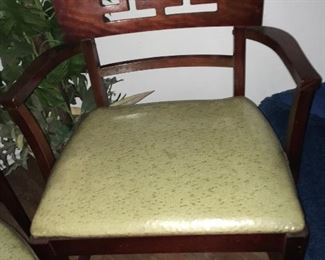 2 Dining Room Arm Chairs and 4 Side Chairs