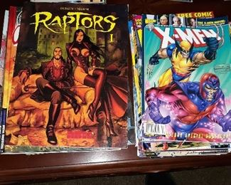 Comics and other collectibles