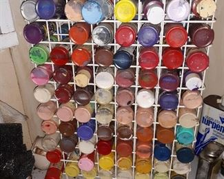 paints and crafting items