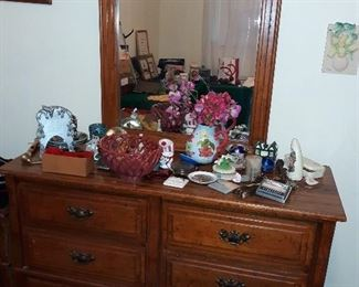 Dresser and nightstand to match