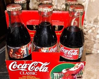 Christmas Coke collectables...