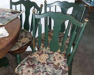 6 chairs to match dining table