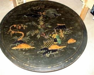 Early Lacquered Japanese Table
