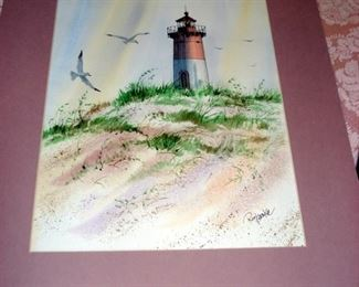 Original Lighthouse Art