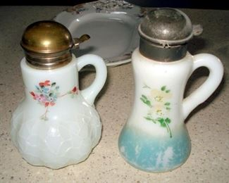 Antique Syrup Pitchers