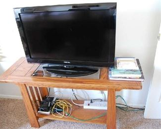 Tv is sold - sofa table still available