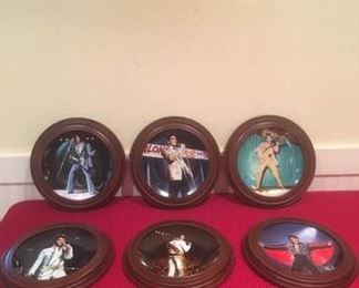 Elvis ''In Performance'' Collection Plates, Issues 6-11 https://ctbids.com/#!/description/share/184714