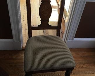 One of 6 Dining Room Chairs