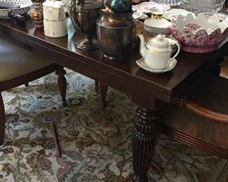 Dining Table with Lovely Carved Legs