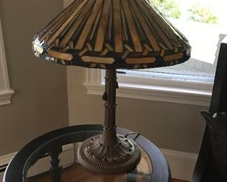Reproduction Tiffany Style Lamp