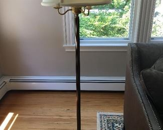 One of several floor lamps