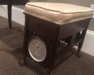 Most unusual stool Victorian