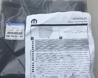 Brand new Jeep Wrangler windows and roof
