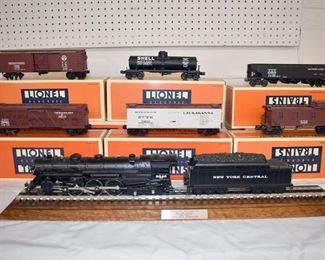 At 1PM and 4PM: Discovery and Cataloged Collections of O-scale Trains & Accessories by Lionel, Williams, Weaver, K-Line, and more. See BriggsAuction.com for more details & photos.