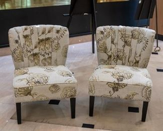 Two adorable sitting chairs - almost new!