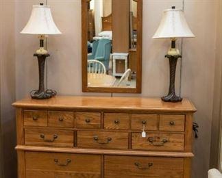 Dresser & Mirror sold separately - excellent condition.