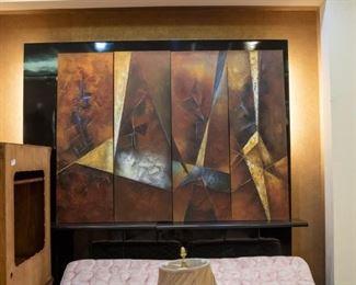 Modern art  - four pieces!