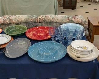 So many nice serving pieces!
