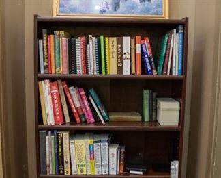 Books, cookbooks, office supplies