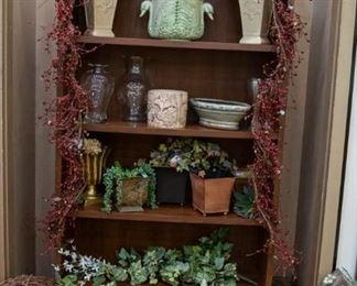 Flower pots, vases, greenery...