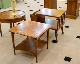 Antique occasional tables!