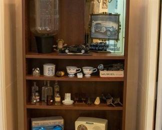 General Electric vintage radio, vintage clocks, TS21 Lineman's Test Set, and more!